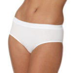 Brubeck dames classic slip wit front